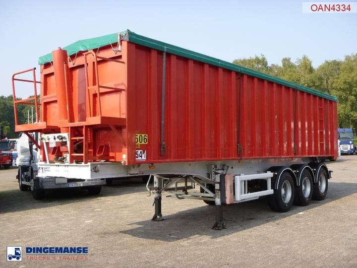 Stas Tipper trailer Alu 42 m3 - 2003