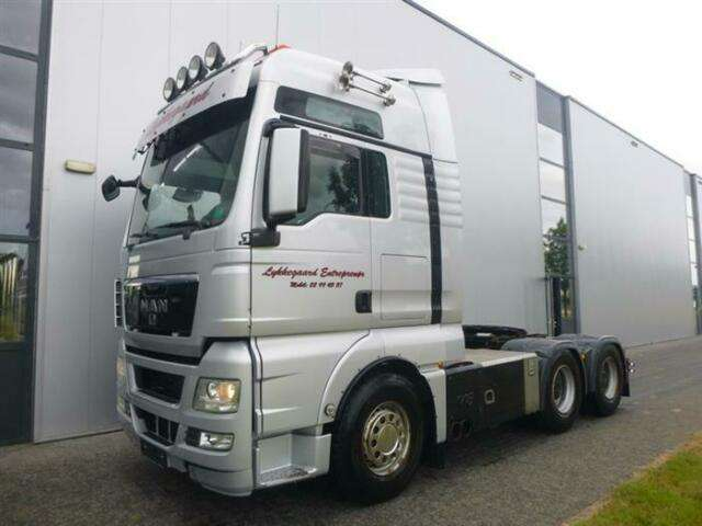 MAN Tgx26.680 V8 6x4 Xxl Retarder Hub Reduction Euro - 2009