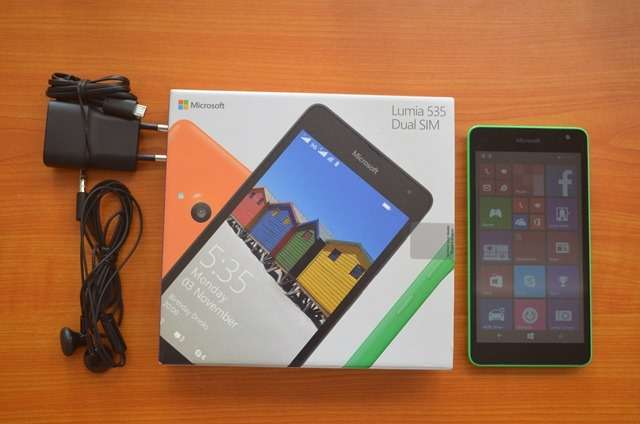 Microsoft Lumia 535 Dual Sim new and sealed in shop Nairobi CBD - image 1