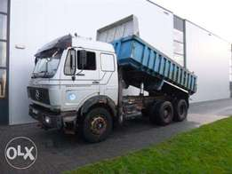 Mercedes-Benz Sk 2244 V8 6x2 Full Steel Hub Reduction - To be Imported