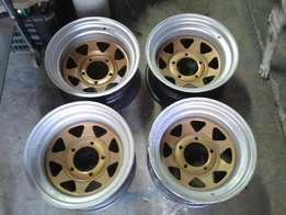 Ford F100 staal rims