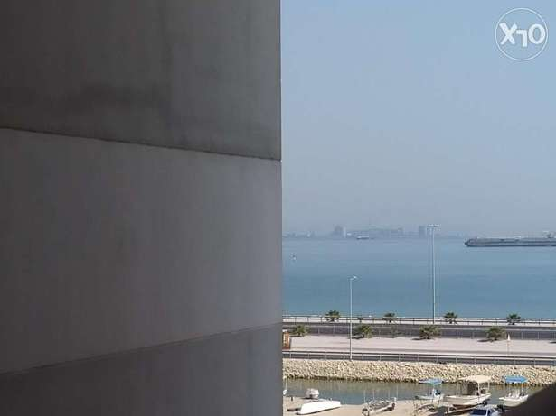 3 BHK flat with partial seaview - at extremely low price - balcony -