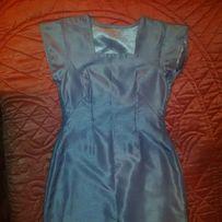 c67ff39adb Zjawiskowa sukienka błękitna suknia niebieska baby blue maxi długa