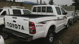 2012 Toyota hilux brought new.
