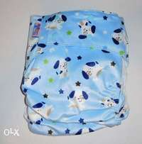 Coloured washable diapers