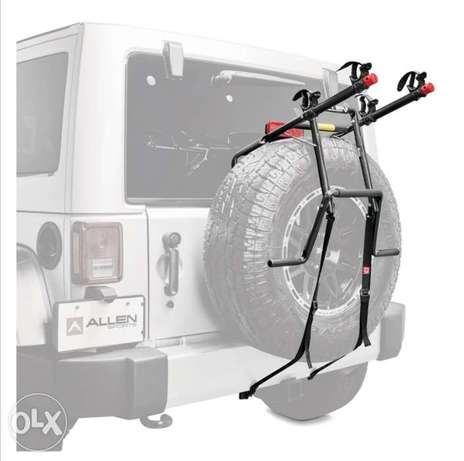 Allen usa Sports Deluxe 2 Bike Spare Tire Rack SPECIFICATION: USA
