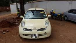 NISSAN MARCH (2007 Model) CREAM for SALE!!!