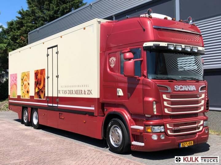 Scania R 500 6x2/4 / CONCOURSTAAT Bloemen verkoop / King of the - 2011