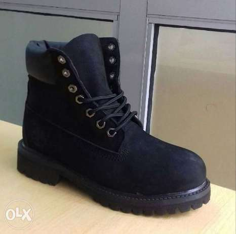 All black timberland boots City Centre - image 2