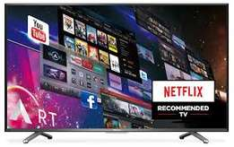new brand 50 inch hisense smart 4k uhdsmart tv in cbd shop call now