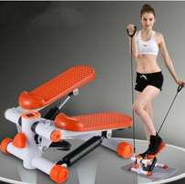 Brand new fitness stepper with training ropes