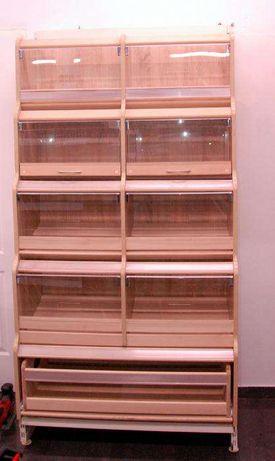 meble sklepowe regały, wyposażenie sklepów Łódź - image 8