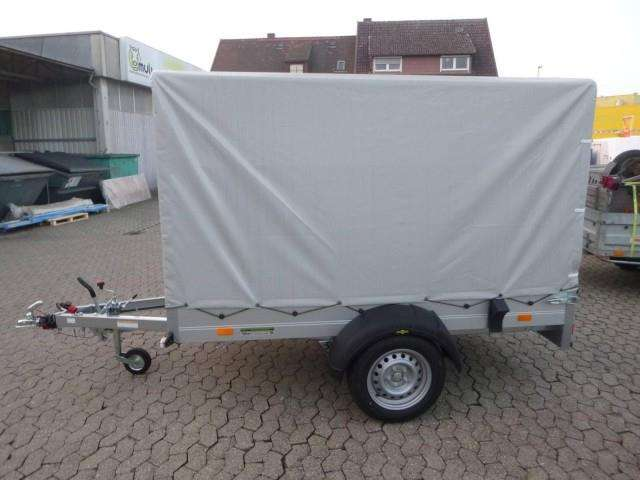 Humbaur Startrailer H132513 Alu Mit Hochplane 150 Cm, 251x131x30cm - image 3