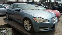 Sky Blue Colored 2009 Jaguar Xf With Auto drive Navigation Rev Camera