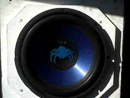 Xtc spider Sub and Amp for R700