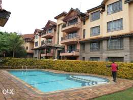 Spacious Apt 3bd master ensuite dsq 1st floor pool to let in kilimani
