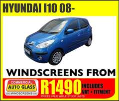Hyundai I10 Windscreen specials