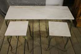 3 Piece Marble Coffee Table S023246E