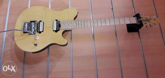 OLP MM1 Electric Guitar with Floyd Rose Tremolo Gloss Natural
