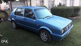 Blue golf Good Condition