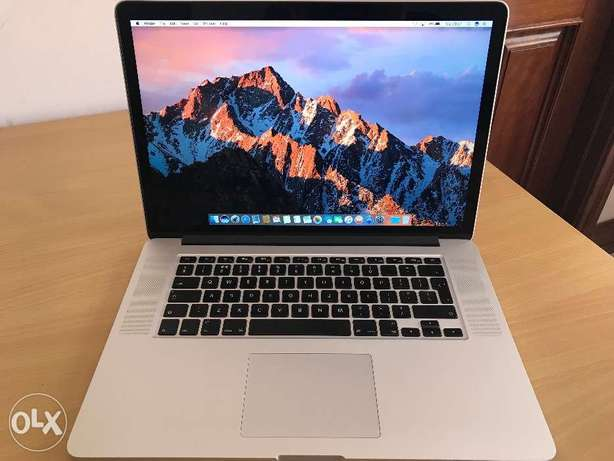 Macbook Pro Retina 15 Inch Excellent condition 2.3GHz i7/8gb/256gb SSD Makupa - image 1