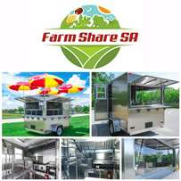 Mobile Food Kitchen Trailers