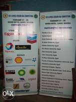 General printing: business/ ID card, letterhead, paper bag, Roll-up
