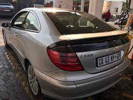 2003 Mercedes c230coupe k coupe r39000