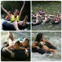 River tubing on the nile