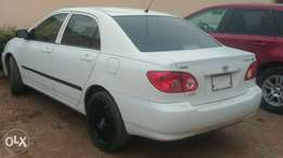Very clean 2007 Tokunbo corolla for sale