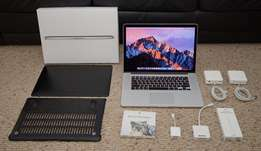 15 Retina Apple Macbook Pro i7 2.3GHz 4Cores 16GB RAM 480GB SSD - SOLD