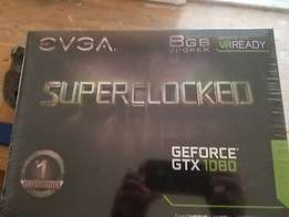 NEW EVGA GeForce GTX 1080 Superclocked 8GB GDDR5X Video Card DVI HDMI