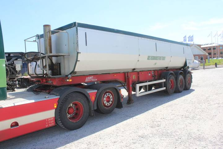 AMT 3 akslet asfalt tiptrailer - 2007