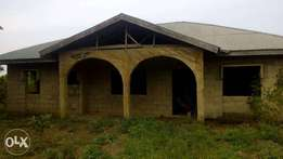 Uncompleted 4 bedroom House
