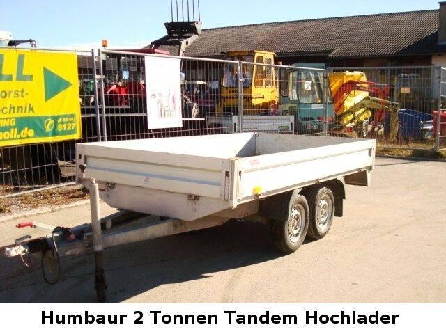 Humbaur 2000 Kg. Tandem - 2002