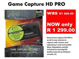 Game Capture HD PRO REDUCED!!!