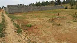 100×100 second plot from tarmac(Thogotto-mutarakwa) at Kamangu.