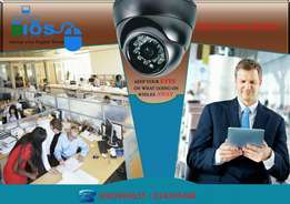 CCTV and electric fence
