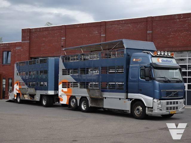 Volvo FH420XL 3Stock + 3Stock Livestock trailer - 2010