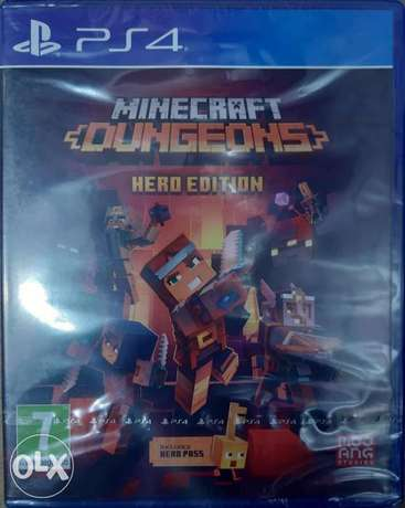 Minecraft Dungeons for Ps4 game