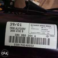 vw audi passenger airbag new
