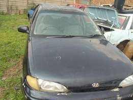 1996 Hyundai Accent 1.5L Stripping for Spares