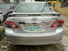 Bought brand new Toyota corolla 2012