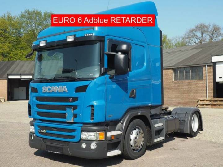 Scania G 440 Euro6 Mega Retarder Adblue - 2013