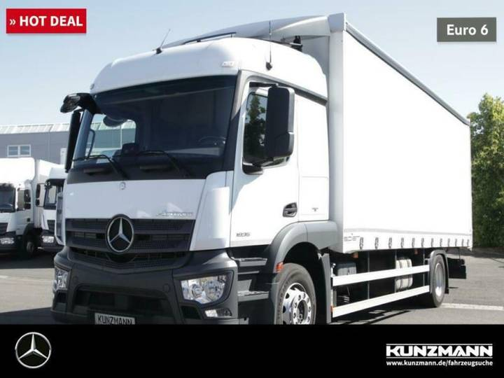 Mercedes-Benz Actros 1835 L Curtainsider StreamSpace Power. - 2017