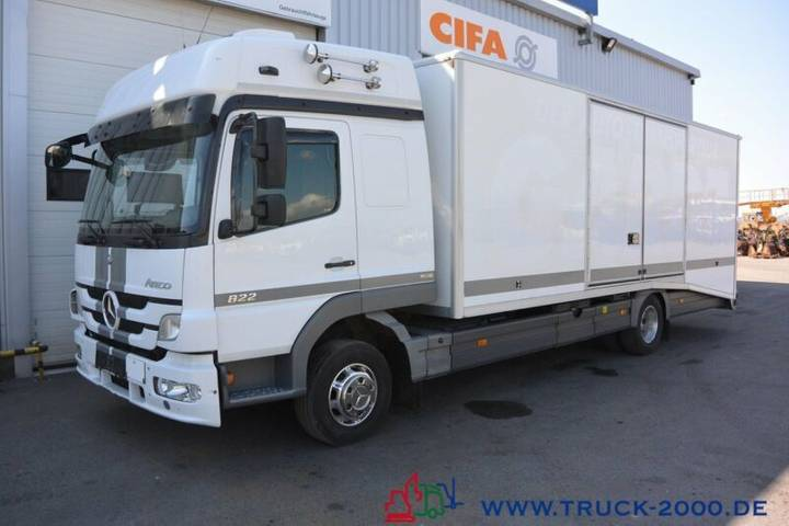 Mercedes-Benz Atego 922 geschlossener Autotransporter 1. Hand - 2012