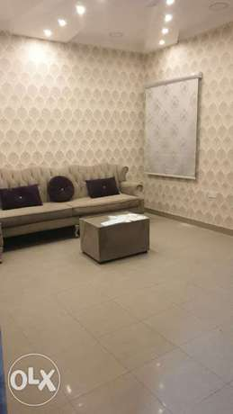 For rent a partially furnished apartment including water and electrici