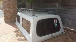 Hyundai H100 Canopy with roof rack