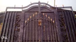 Modern gate, with good material also has warranty on it.