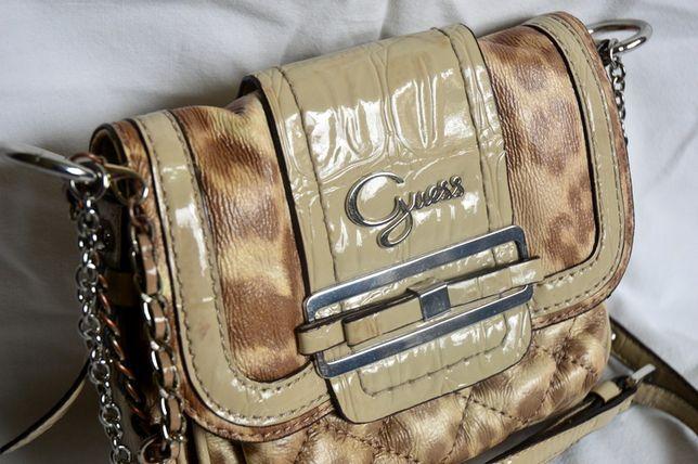 guess oryginalna torebka listonoszka przez ramię
